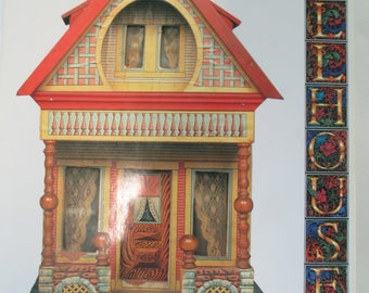 """Miniature """"Dollhouses"""" Hardbound Craft Book 96 pages by Valerie Jackson used good condition"""