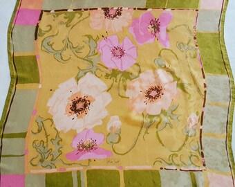 Ken Scott vintage scarf