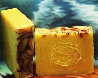 Sunny Citrus - Orange - Handcrafted Vegan Bar Soap