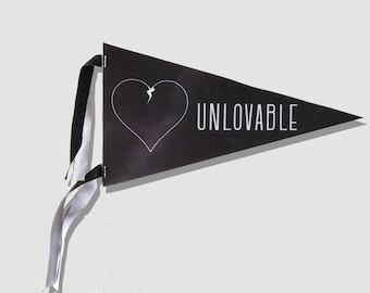 Unlovable Club Pennant