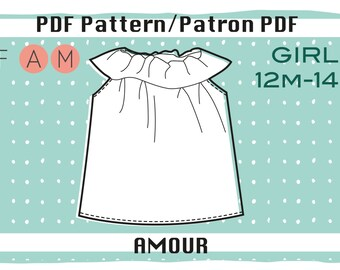 PDF Pattern of the Amour Top