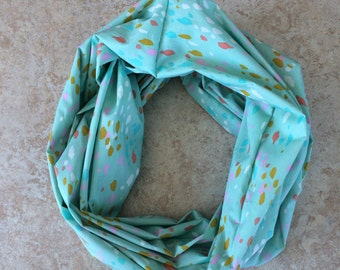 Cotton Lawn Infinity Scarf - Cotton + Steel - August line