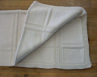 Shenandoah 100% Natural Cotton Throw Blanket