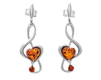 Music earrings drop-031