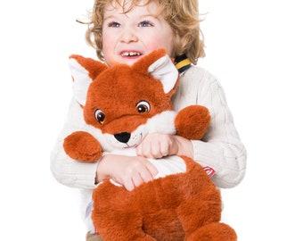 Stuffed Fox, Personalized Fox, Personalized Stuffed Animals, Personalized Plush, Cubbie Stuffed Animal, Embroidered Plush, Stuffed animals