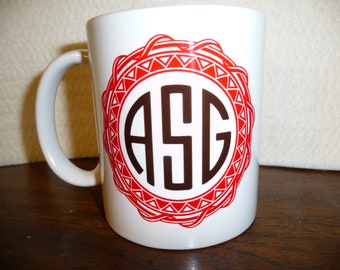 Monogram custom Mug