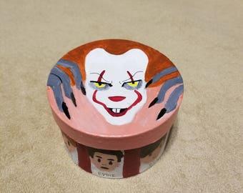 IT acrylic cardboard box