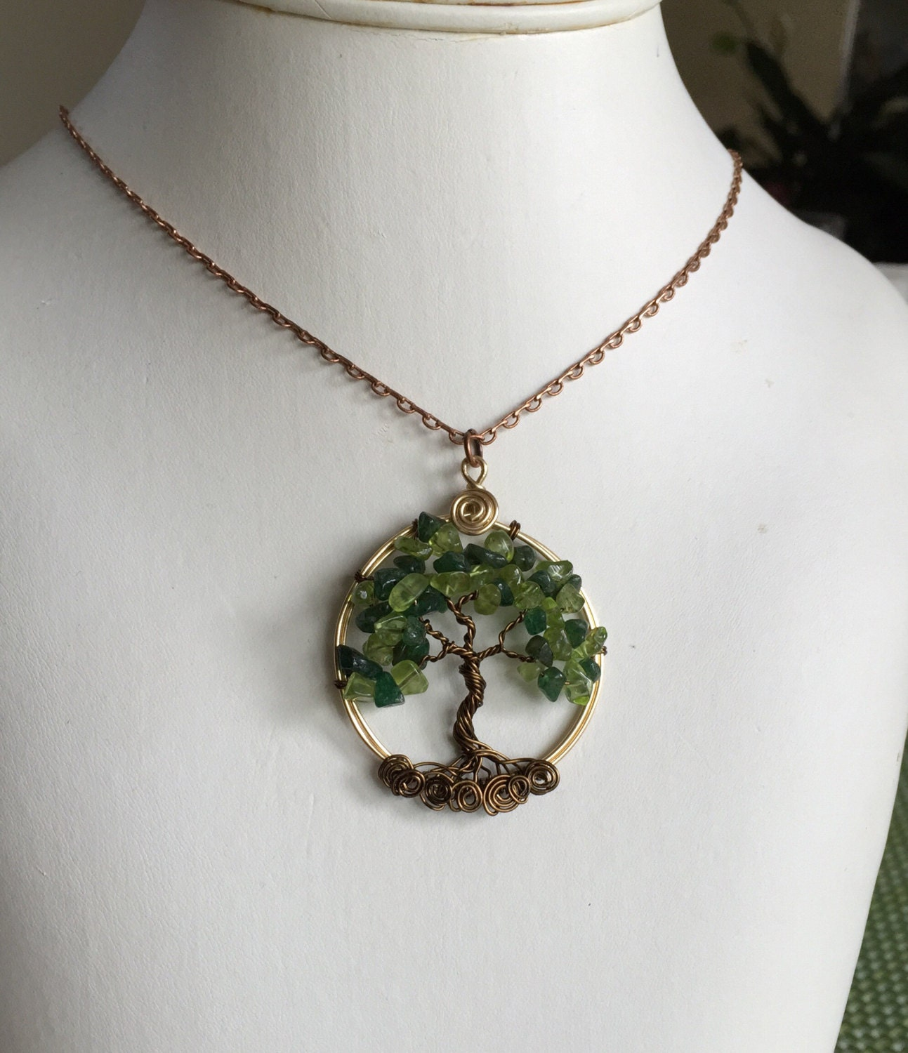 round pendant birthstone by silver with necklace peridot chain august shop jewelry sterling