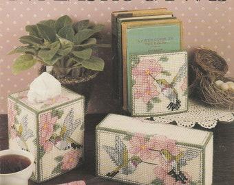 Hummingbirds In Plastic Canvas