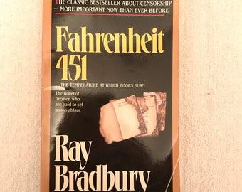 Vintage Fahrenheit 451 Book