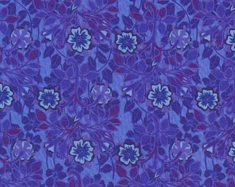 Pastiche, In the Beginning Fabrics, Jason Yenter, Cinquefoil, Purple Floral Print