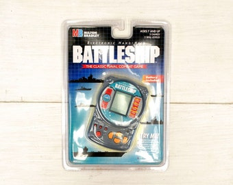 90s Battleship Game Hand Held Vintage Electronic Travel Game New in Original Packaging