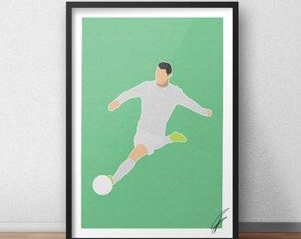 Cristiano Ronaldo INSPIRED Print / Poster