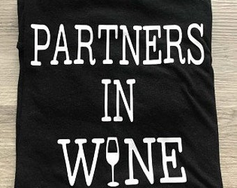 Partners in Wine Short Sleeve T-Shirt