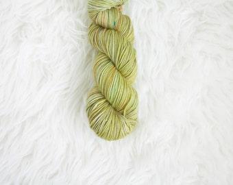 science experiment - MCN dk weight yarn - merino cashmere nylon