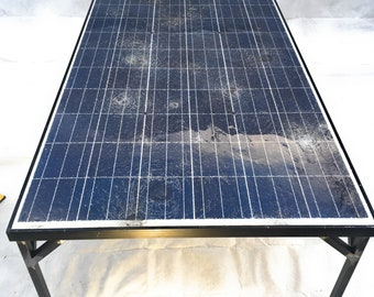 Recycled Solar Panel Coffee Table