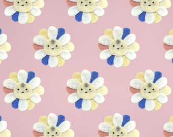 Flower pin - Handmade jewel