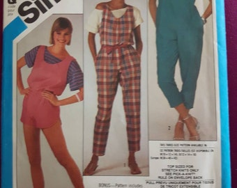 Simplicity 6395, Vintage Jumpsuit and Romper Pattern