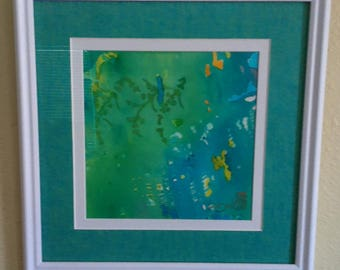 Colorful Thoughts / Original Water Color by Jacksonville Florida Artist, Marie Shell