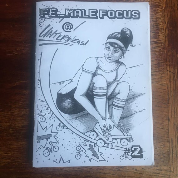 "Hamburger Riot Grrrl fanzine ""Fe_Male Focus @UNTERWEGS"" #2"