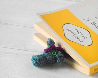 Dragon Bookmark, Unique Bookmark, Animal Bookmark, Crochet Bookmark, Mythical and fantasy creatures, gift for everyone,