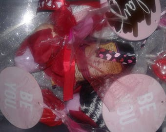 Valentines day grab bags