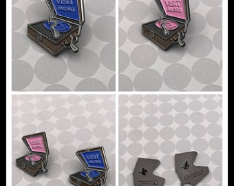 10 pieces Phonograph Lapel Pin
