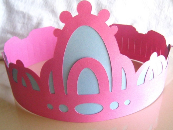 Items similar to Paper Crowns for a Prince or Princess on Etsy