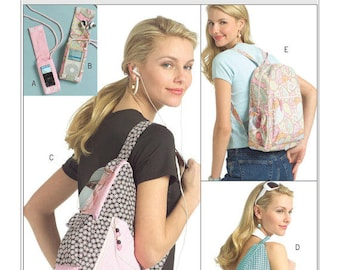 Butterick B5054 Young Adult Backpacks Sewing Pattern / Uncut/FF