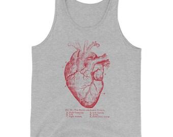 Anatomical Heart Tank Top