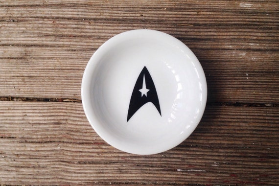 Ring Dish | Star Trek | Geek Wedding | Engagement Gift | Jewelry Dish