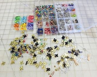 Scrapbooking Brads and Eyelets - Destash Mixed Lot