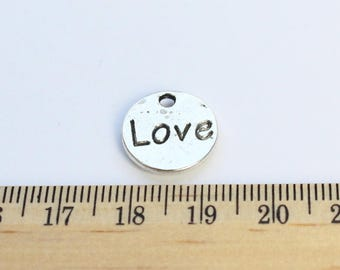 3 Heart Charms - Love Charms - EF00110