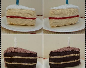 Knitted Cake Slices