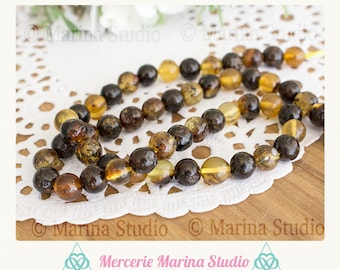 A genuine Pearl amber vintage Mexico about 7 / 8mm