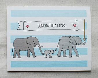 Congratulations- Baby Card