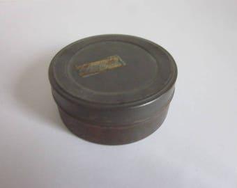 Vintage Kodak Ektachrome Film Canister, Grey Vintage Film Canister, Small Vintage Metal Film Canister