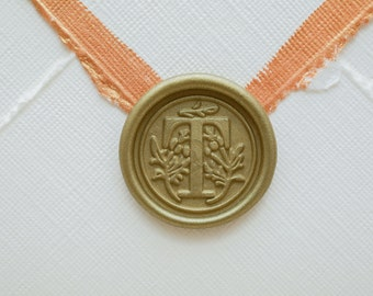 T Letter Wax Seal | Initial Wax Seal Stamp