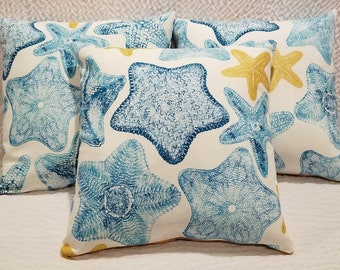 Outdoor Starfish Pillow Cases
