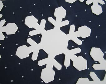 Snowflake Die Cut, Snowflakes, Frozen Party, Winter Party