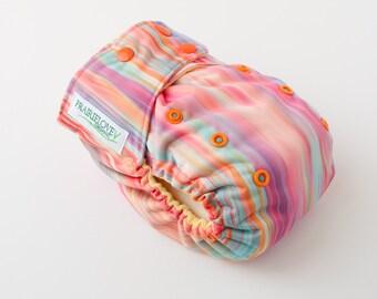 Sunrise Shimmer AI2 OS Snap Closure Diaper