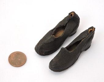 Antique Late 1800's Miniature Salesman Sample Shoes - Boston Rubber Shoe Company