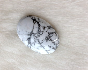 Magnesite Polished Oval