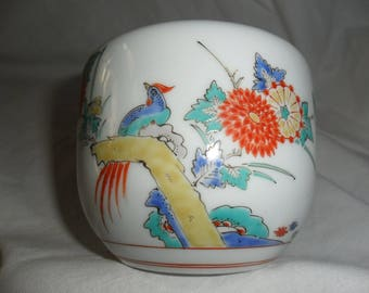 old kakiemon litthe cachepot,  marcato with , caduceo,   Meissen Germany.
