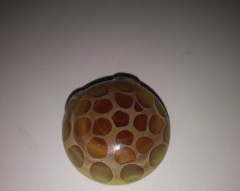 Caramel Honeycomb Pendant
