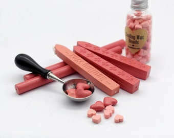 Light Pink / Pure Pink Sealing Wax for Wax Seal Stamp Set