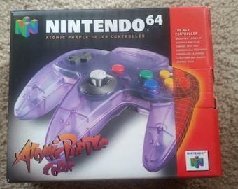 Nintendo 64 Controller Atomic Purple