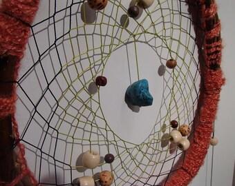hanging dream catcher native jungle