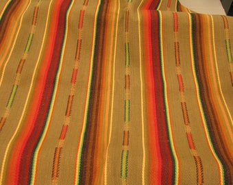 """Laura Kiran Southwest Stripe Sundance Saddle heavy twill like decor fabric, sent as pillow size cuts 18 or 26"""" sq, or sent as sewn cover"""