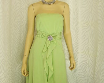 Bridesmaid Strapless Gown